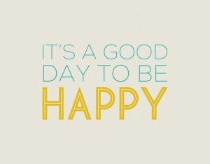 Hoy es un buen día para sonreír