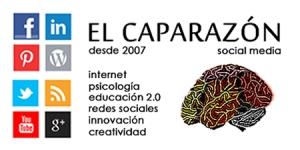 Logo de El Caparazon. Blog de Dolors Reig