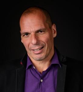 Yanis Varoufakis, ministro de finanzas de Grecia, experto en teoría de juegos (CC BY-SA Jfgoulon)